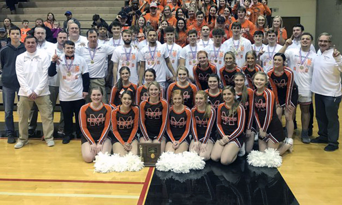 Meadowbrook Boys Basketball - Division 2 East 2 District Champions