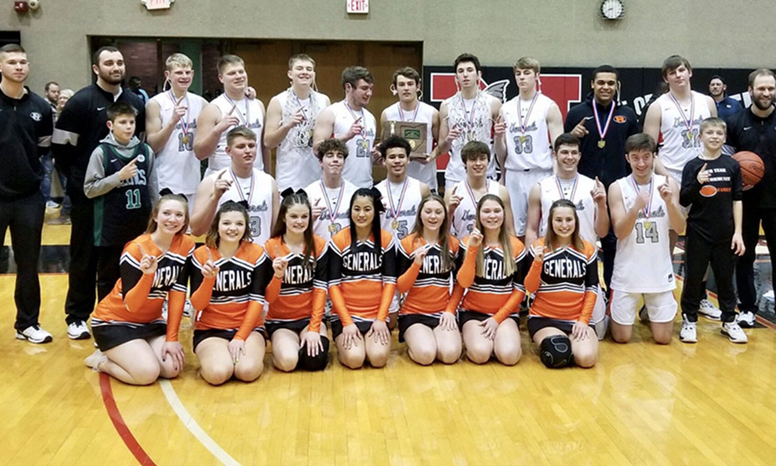Ridgewood Boys Basketball - Division 3 East District Champions