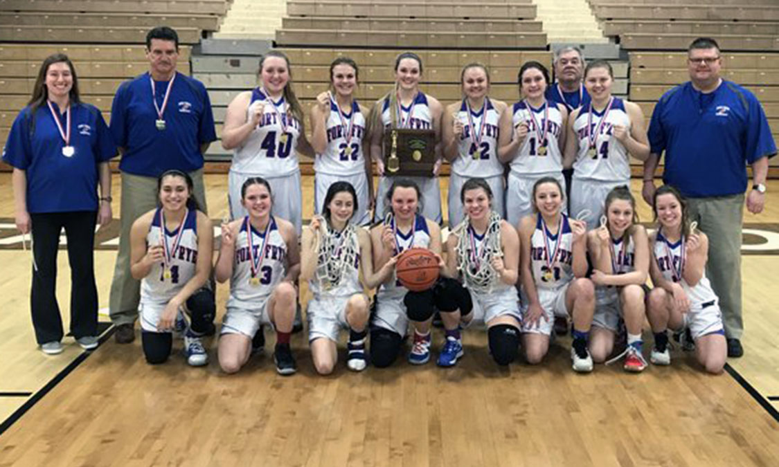 Fort Frye Girls Basketball - Division 4 East District Champions