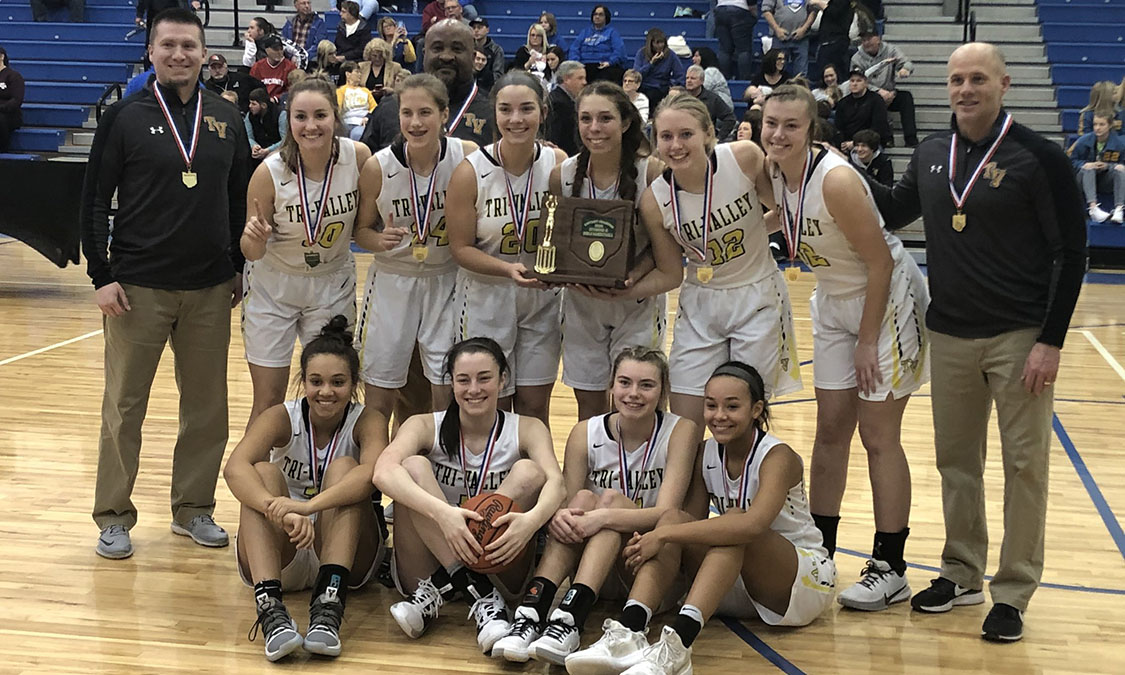 Tri-Valley Girls Basketball - Division 2 East District Champions
