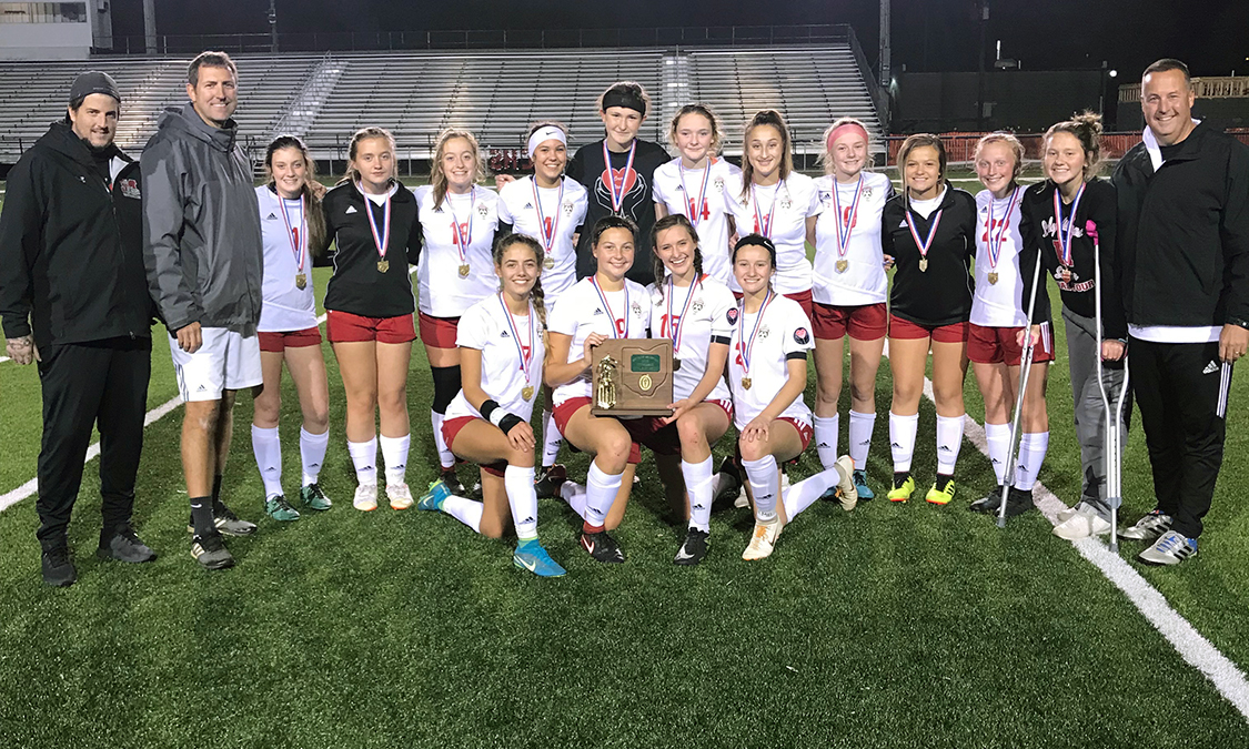 Bishop Rosecrans Girls Soccer - Division 3 East District Champions