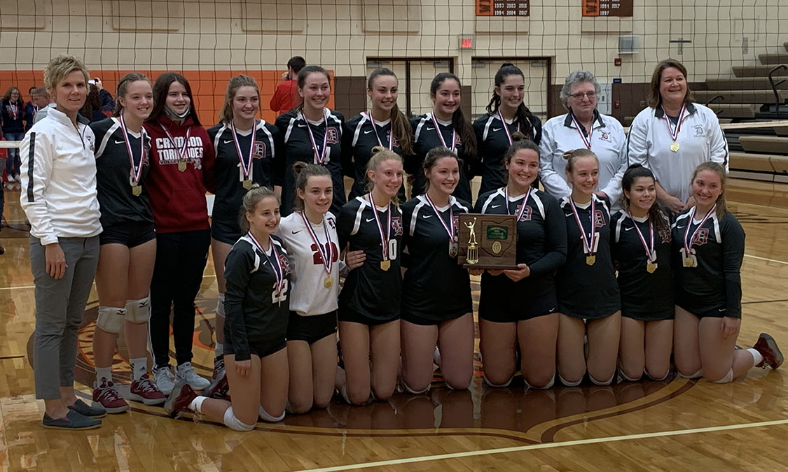 Dover Volleyball - Division 2 East District 2 Champions