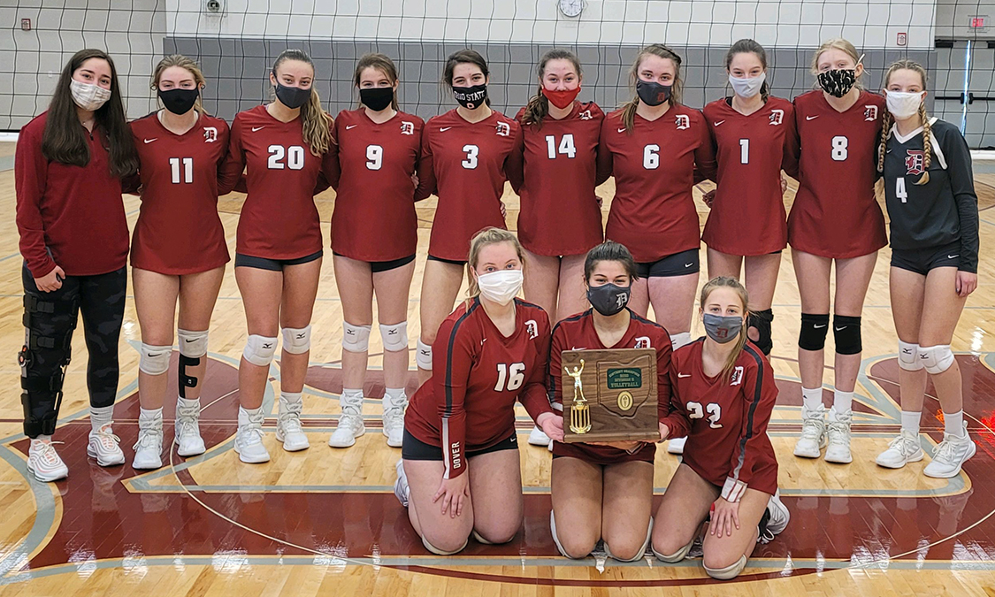 2020 Dover Volleyball D2 District Champions