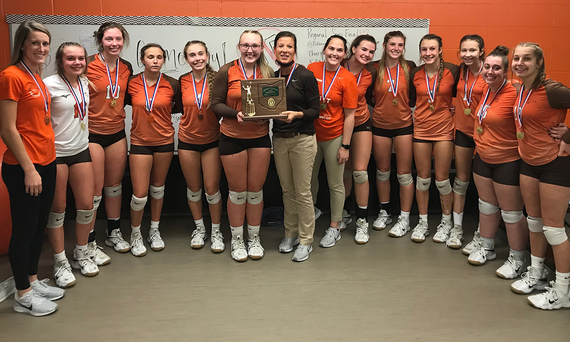 2020 Meadowbrook Volleyball D2 District Champions