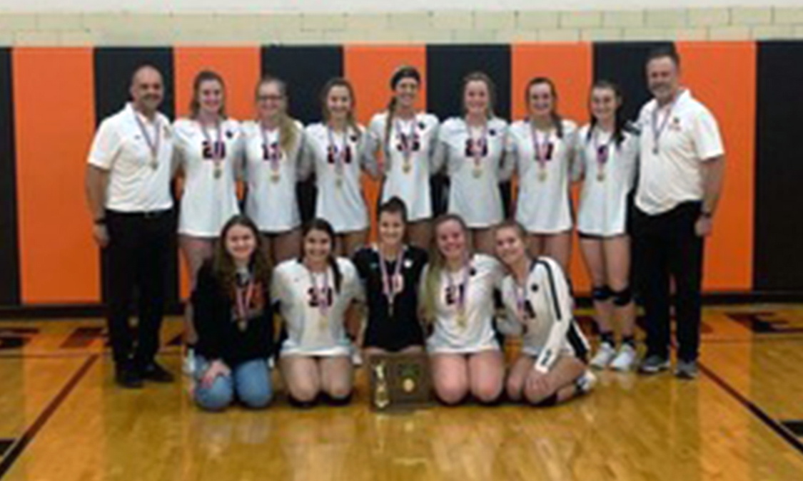 2020 Shadyside Volleyball D4 District Champions