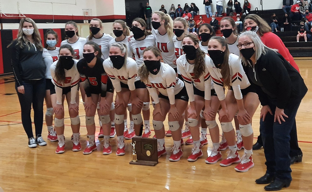 2020 Tuscarawas Valley Volleyball D3 District Champions