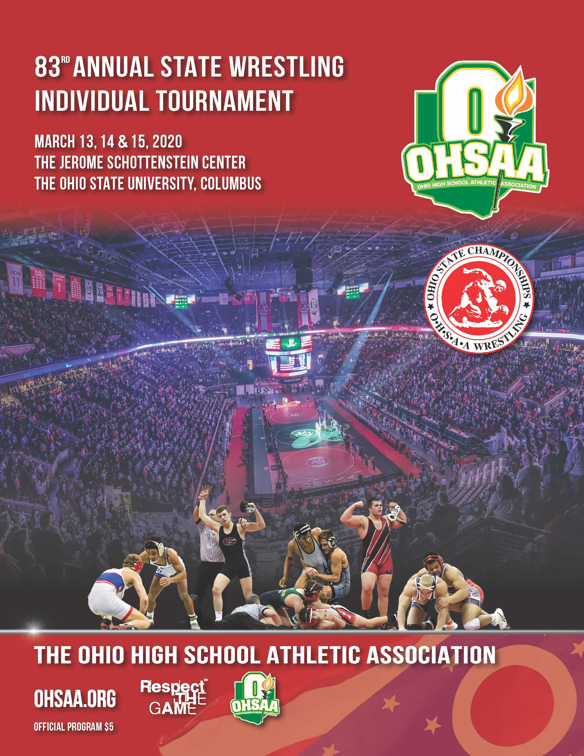 2020 Ohsaa Individual Wrestling State Tournament Coverage
